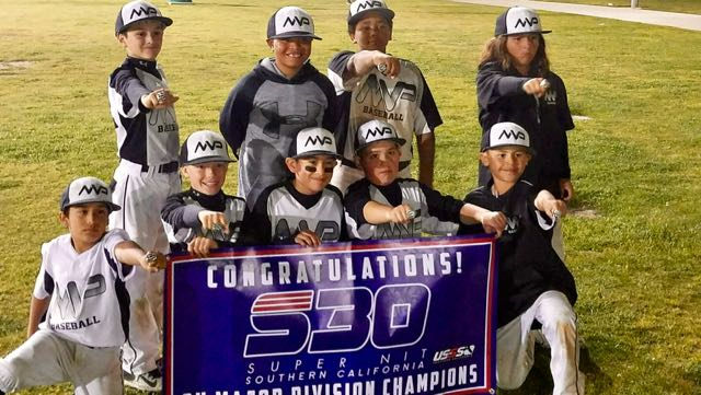 Wilson MVP 9U Major Champions