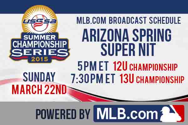 Arizona Spring Super NIT on MLB.com