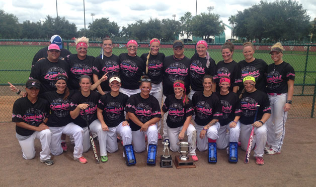 COMBAT Derby Girls Win USSSA World Championship