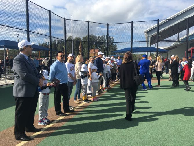 USSSA Helps Celebrate Field Of Dreams Complex Opening
