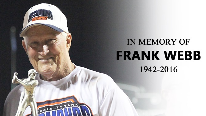 In Memory of Frank Webb