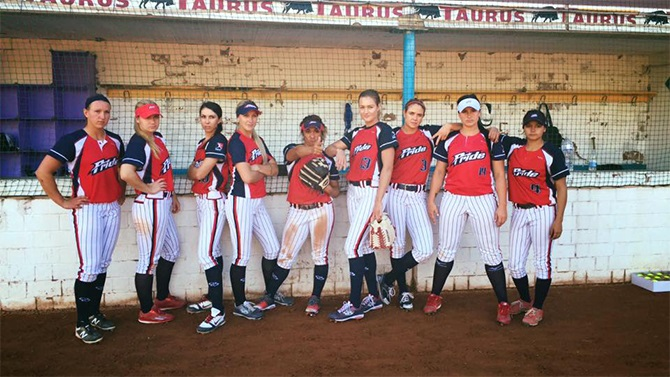 USSSA Pride and Italia Softball Tie in Weather Shortened Game