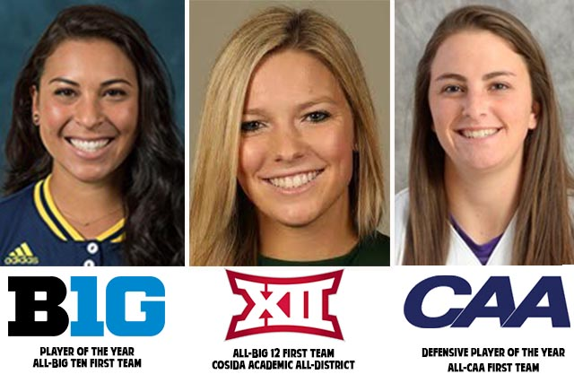 Pride Draftees Romero, Field and Stearns Earn Conference Honors