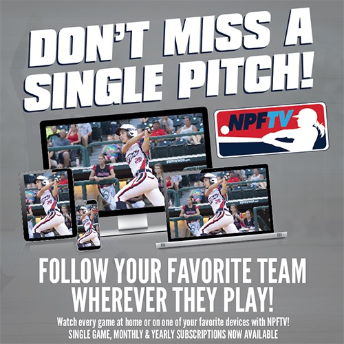 National Pro Fastpitch Launches Exclusvie Online and Digital Platform