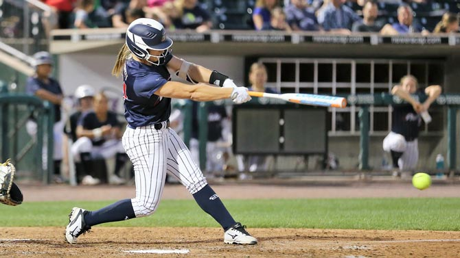 USSSA Pride scratch out a win, defeat Akron Racers