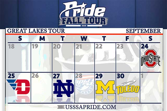 USSSA Pride Announce 2016 Fall Tour