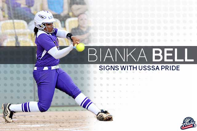 Bianka Bell Signs with the USSSA Pride
