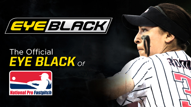 Eyeblack Named the Official Eye Black of National Pro Fastpitch