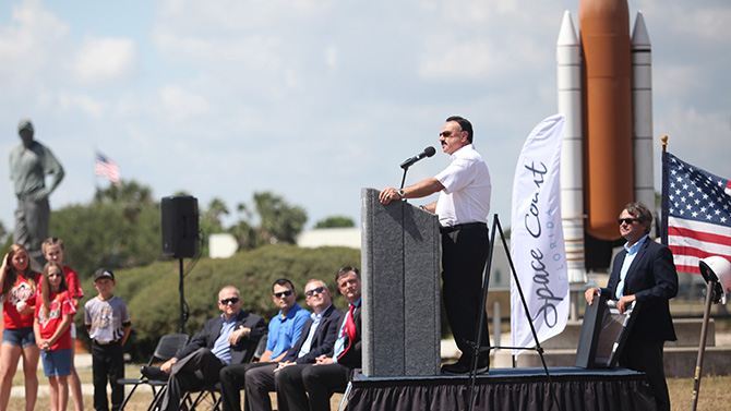 USSSA Space Coast Stadium Groundbreaking Ceremony