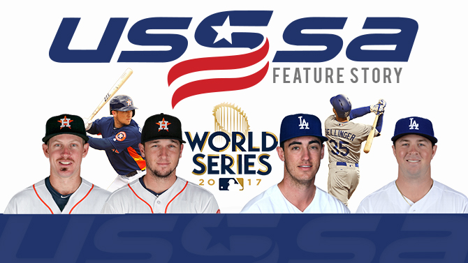 Current MLB World Series stars, former USSSA athletes