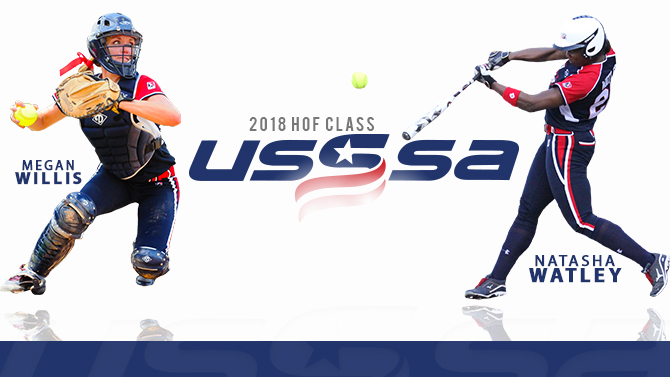 Pride Alumni in the 2018 USSSA Hall of Fame class